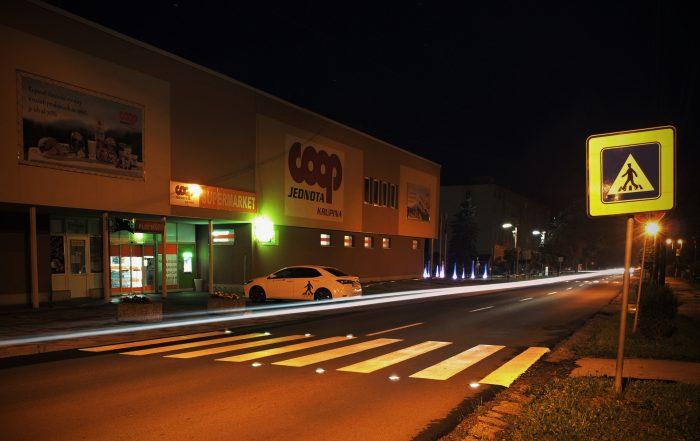 Solárne LED gombíky TL - SLC10 prevedenie prvé