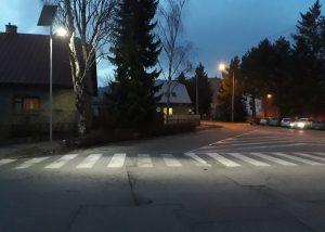 APL SOLAR fotografia v noci