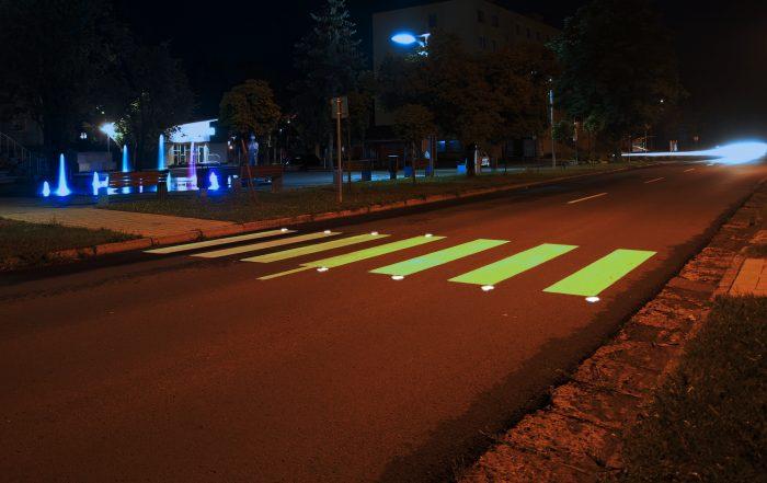 Solárne LED gombíky TL - SLC10 prevedenie druhé