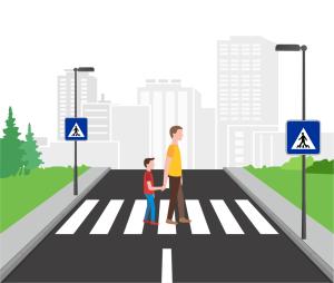 Osvetlenie priechodov pre chodcov