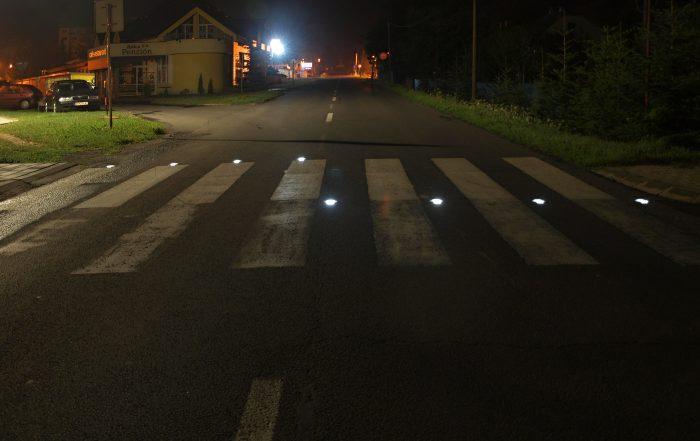 Solárne LED gombíky TL - SLC10 prevedenie štvrté