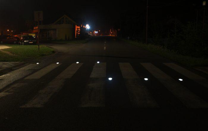 Solárne LED gombíky TL - SLC10 prevedenie šieste