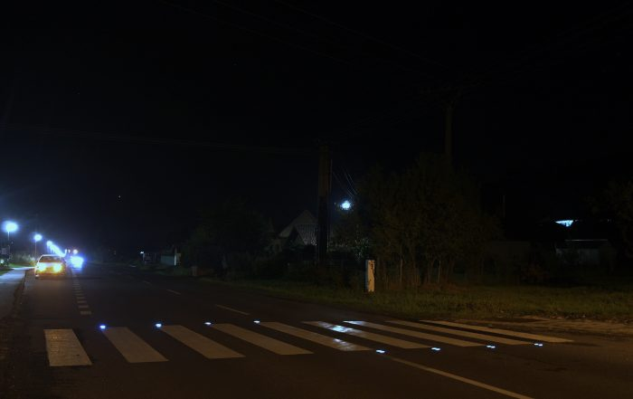 Solárne LED gombíky TL - SLC10 prevedenie siedme