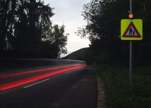 solárne LED výstražné svetlo v boxe 201 ul. Okružná 1