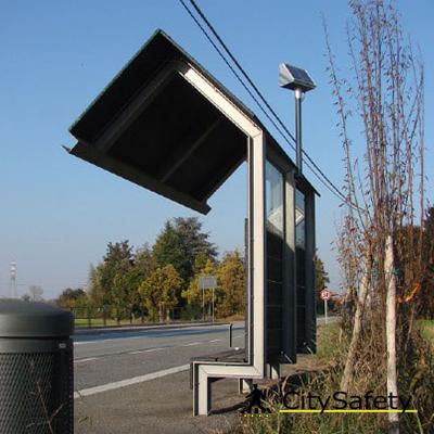 Multifunknčné solárne LED svietidlo realizácia 3