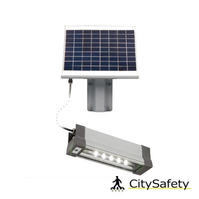 Multifunknčné solárne LED svietidlo