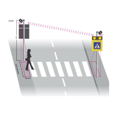 Inteligentný priechod pre chodcov riešenie C