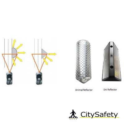 Solárny LED systém na odplašenie zveri unirezálny plašič