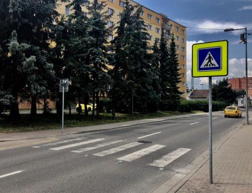 Inteligentné priechody pre chodcov v meste Liptovský Mikuláš