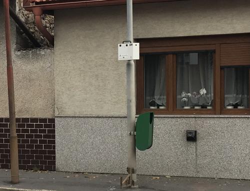 Analýza hustoty dopravnej premávky – sčítač dopravy v meste Krupina