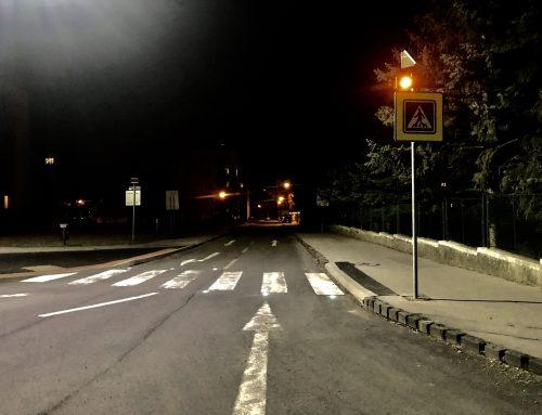 Solárne LED gombíky TL – SLC10 + VS 2 x 102  v meste Zvolen
